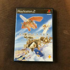PS2用ソフト、スカイガンナー パッケージ